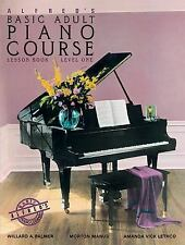 Alfred's Basic Adult Piano Course: Lesson Book, Level One by Palmer, Willard A.