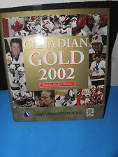 TEAM CANADA-2002 WINTER OLYMPICS MEN'S & WOMEN'S HOCKEY GOLD MEDAL CHAMPS BOOK
