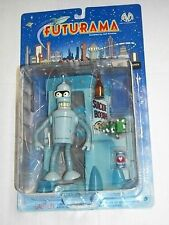 Moore Action Collectibles BENDER & SUICIDE BOOTH Futurama Figure MOSC