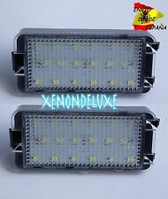 KIT LUZ DE MATRICULA LED PLAFON SEAT SUPER POTENTES ALTEA LEON IBIZA BLANCO PURO