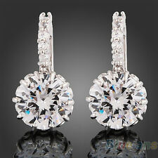 Vogue Women Clear Crystal Bridal Wedding Party Earrings Fashion Jewelry