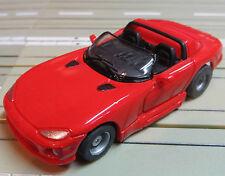 per slot car Racing Modellismo ferroviario Cabrio mit Tyco Motor