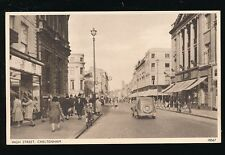 Glos Gloucestershire CHELTENHAM High St Boots & Barrats PPC 1950s?