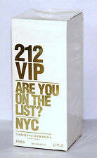 CAROLINA HERRERA 212 VIP FOR Women 80ML EAU DE PARFUM SPRAY BRAND NEW & SEALED