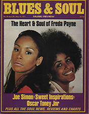 Freda Payne Blues & Soul Issue 58 1971    The Sweet Inspirations    Joe Simon