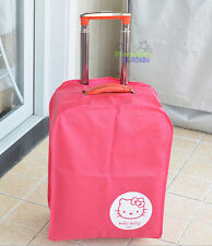 "28"" Cute Hello Kitty Luggage Protector Suitcase Cover Bags Dust-proof"