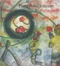 Fachbuch Francesco Clemente, Palimpsest, Figuration und Farbigkeit, NEU