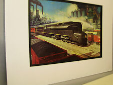 Pennsylvania Railroad  artist Grif Teller 1945 Railroad Archives Museum