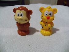 2 Vtech Smartville Replacement Zoo Animals