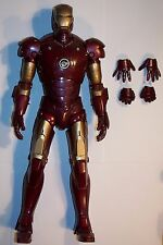 "12"" / 1/6TH SCALE HOT TOYS IRON MAN MARK III MARK 3 TONY STARK LOOSE FIGURE"