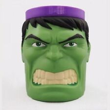 Exclusive Marvel Comics Incredible Hulk Plastic Mug Head Coffee Tee Cup Original