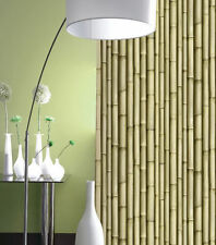 GALERIE WASHABLE FEATURE WALLPAPER BAMBOO EFFECT J22317  (37% DISCOUNT)