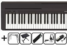 Yamaha P 45 E-Piano P45  Stage Digital Piano Klavier P-45 Piano   NEW MEGA SET