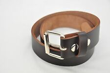 "LEATHER WORK BELT_AMISH HANDMADE_BELTS_MENS_1 1/2"" with FREE SHIPPING"