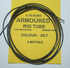 Armoured Rig Tubing 0.75 Bore 2 Mtrs Silt - Carp Coarse