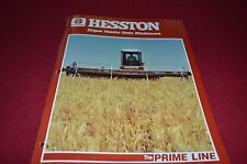 Hesston Draper Header Grain Windrowers Dealer's Brochure DCPA2 ver2