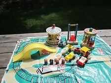 Vintage Fisher Price Little People Play Family Amusement Park Circus 932 100%