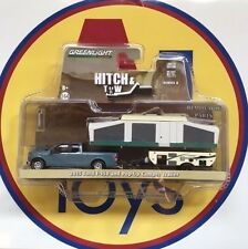 GREENLIGHT HITCH & TOW 8 '15 FORD F-150 PICK UP TRUCK & POP-UP CAMPER