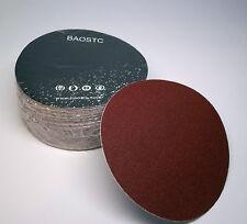 "BAOSTC 5"" no holes assorted60-80-120,hook and loop sanding disc,50PACK"