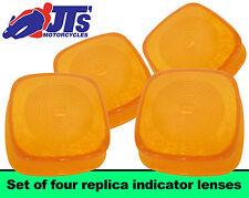 4 INDICATOR  LENSES HONDA MB50 MB5 MT50 MT5 NC50 EXPRESS H100 A H100A COPY