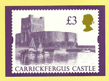 British POST OFFICE-RARISSIMO set di 1 schede PHQ No. D 8-CASTELLO DI £ 3 - 1995