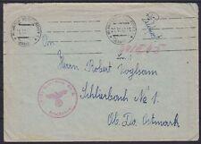 Feldpost Mährisch Weißkirchen Brief WW II, gel. Schlierbach 21.06.1943