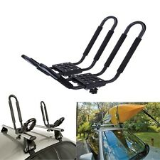 J-Bar Rack HD Kayak Carrier Canoe Boat Surf Ski Roof Top Mount Car SUV Crossbar