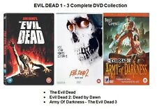 EVIL DEAD TRILOGY COMPLETE COLLECTION DVD ALL 3 MOVIE FILM New Sealed UK Release
