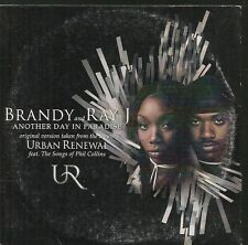 CD SINGLE 2 TITRES--BRANDY & RAY J--ANOTHER DAY IN PARADISE--2001