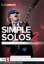 LICK LIBRARY Learn to Play SIMPLE SOLOS VOL.2 AC/DC ROCK JIMI HENDRIX Guitar DVD