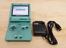 Nintendo Game Boy Advance GBA SP Pearl Green System AGS 101 Brighter MINT NEW
