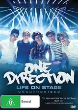One Direction Life on Stage (Unauth Bio) NEW R4 DVD