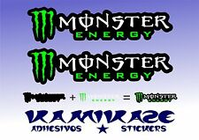 ADHESIVO PEGATINA STICKER AUTOCOLLANT ADESIVI AUFKLEBER DECAL X2 MONSTER