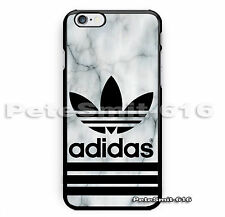 Hot Adidas Marble White logo Print On Hard Cover Phone Case For iPhone 6/6s plus