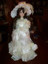 "15"" COLLECTIBLE VICTORIAN PORCELAIN DOLL"