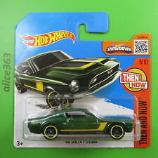 HOT WHEELS 2016 -  ´68 Shelby GT500  -  Then and Now  - 105 - neu in OVP