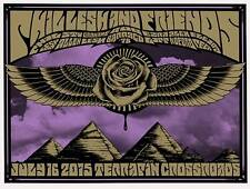 PHIL LESH AND FRIENDS San Rafael July 2015 poster by Alan Forbes
