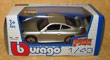 MODELLINO AUTO PORSCHE CARRERA 911 ARGENTO 1:43 cod.14444