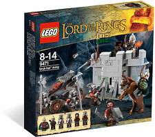 LEGO The Lord of the Rings 9471 Uruk-Hai Army New Sealed Free Postage
