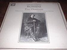 GIOACCHINO ROSSINI  ~  FIVE OVERTURES  ~  MHS 4466, EUC
