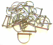 "25 ENKAY ROUND CANOPY PTO PINS 1/4"" CAMPER AWNING TRAILER HITCH PIN"
