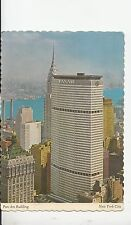 BF18781 new york city pan am building  USA front/back image
