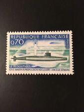 France 1969 premier français sous-marin nucléaire le perilous sg 1849 neuf sans charnière