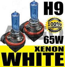 65W H9 Holden Commodore VE High Beam LIGHT Bulbs Globes Blue White 5000K