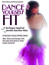DANCE YOURSELF FIT BURLESQUE INSPIRED AEROBIC EXERCISE DVD NEW SEALED WORKOUT