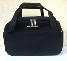 VANITY CASE PLATINIUM NOIR - ADAPTABLE TROLLEY - TTBE