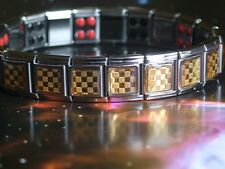 Germanium Stainless Steel Magnetic Therapy Bracelet, unisex, New