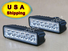 """2X 6"""" inch 18W Cree LED Work Light Bar Lamp for Motorcycle Boat SUV ATV Jeep USA"""