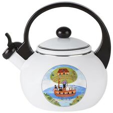 Villeroy Boch Design Naif Tea Kettle Whistling New