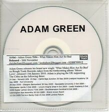 (AB99) Adam Green, What Makes Him Act So Bad - DJ CD